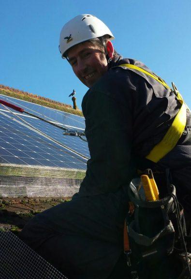 Pest-Tech bird proofing solar panels.